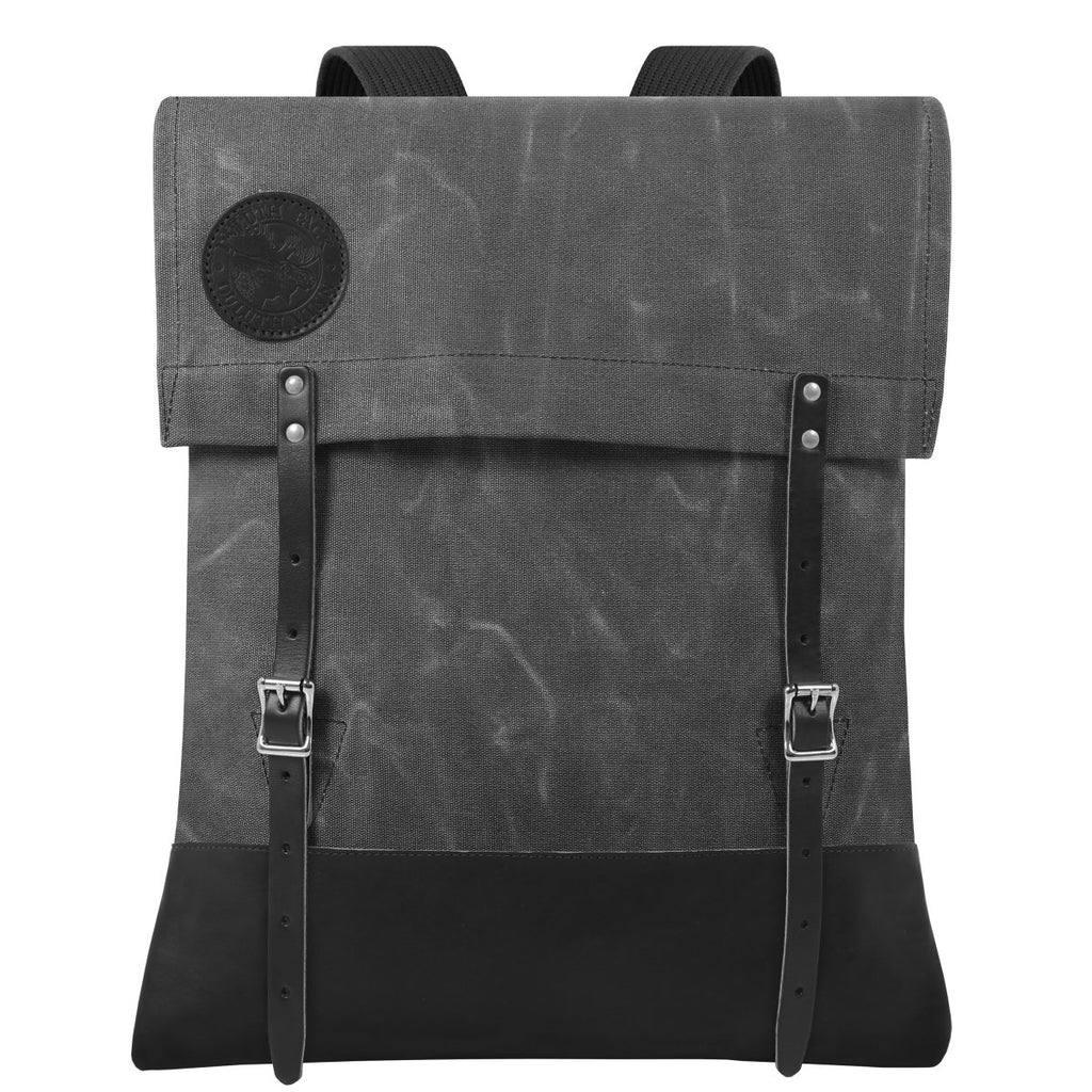 #51 Deluxe - 34L - FINAL SALE Canoe Pack Waxed Grey - Duluth Pack