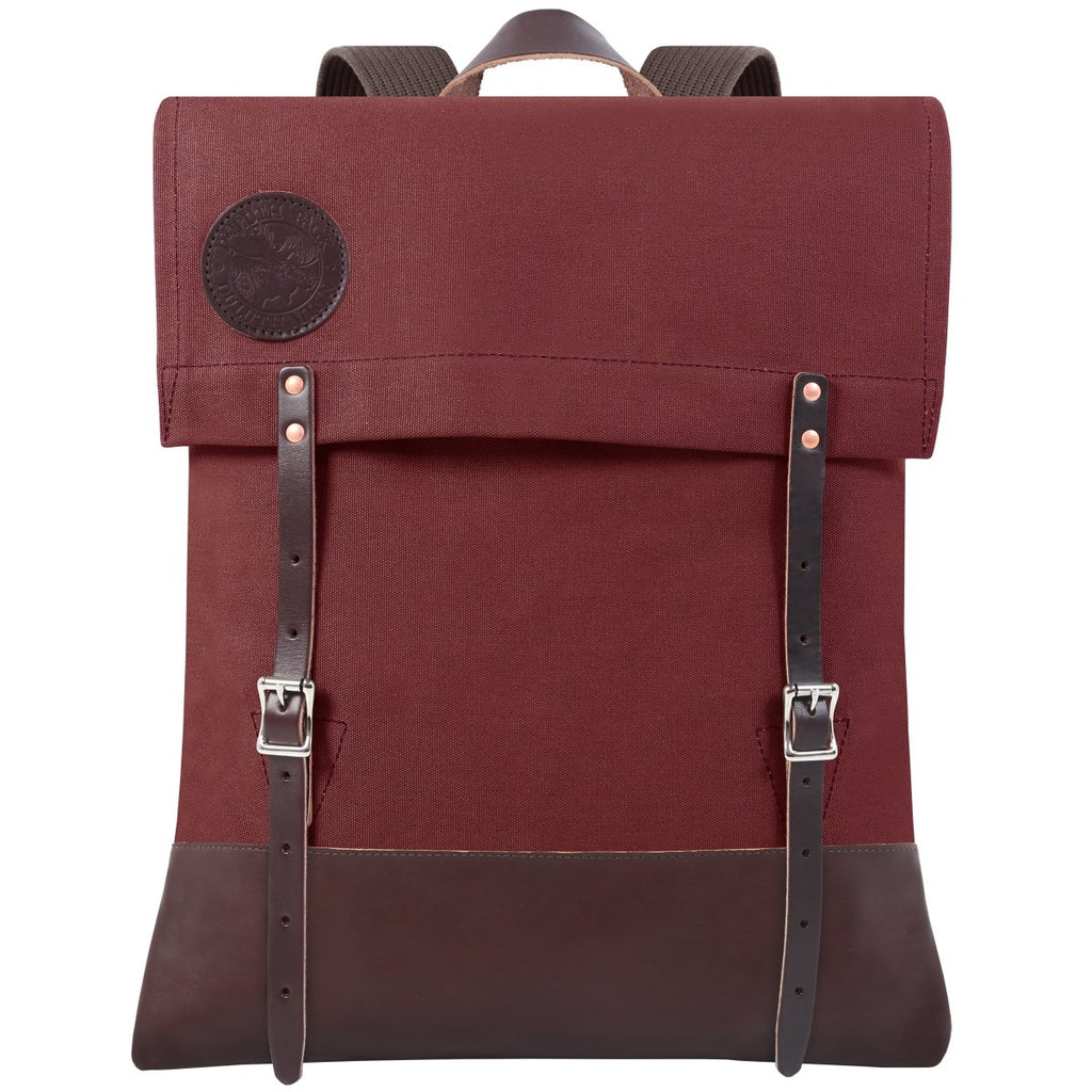 #51 Deluxe - 34L - FINAL SALE Canoe Pack Burgundy - Duluth Pack