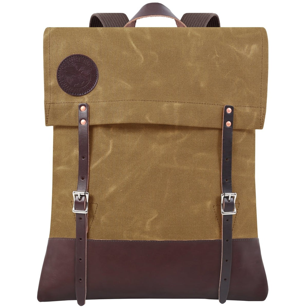 #51 Deluxe - 34L - FINAL SALE Canoe Pack Waxed Khaki - Duluth Pack