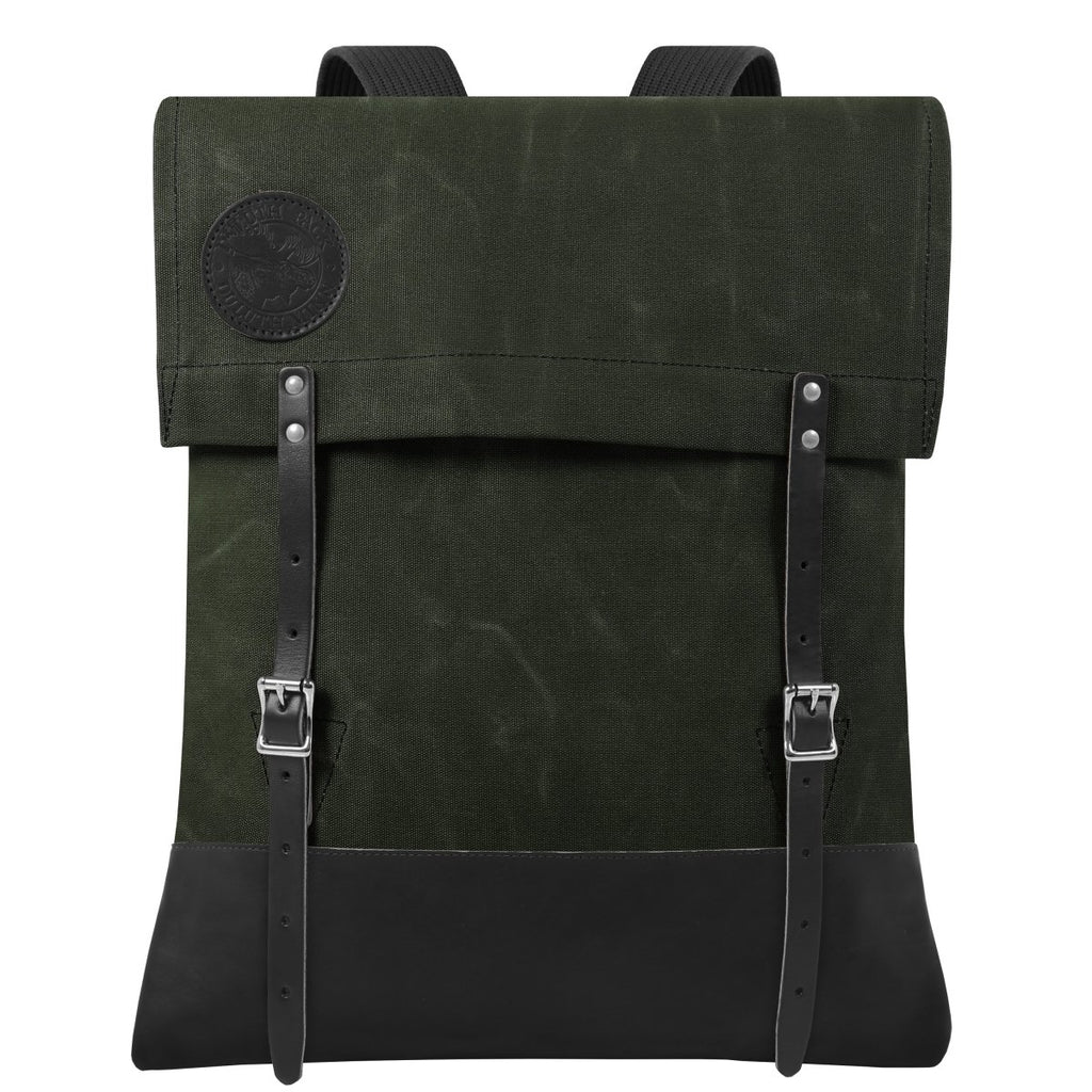 #51 Deluxe - 34L - FINAL SALE Canoe Pack Waxed Olive Drab - Duluth Pack