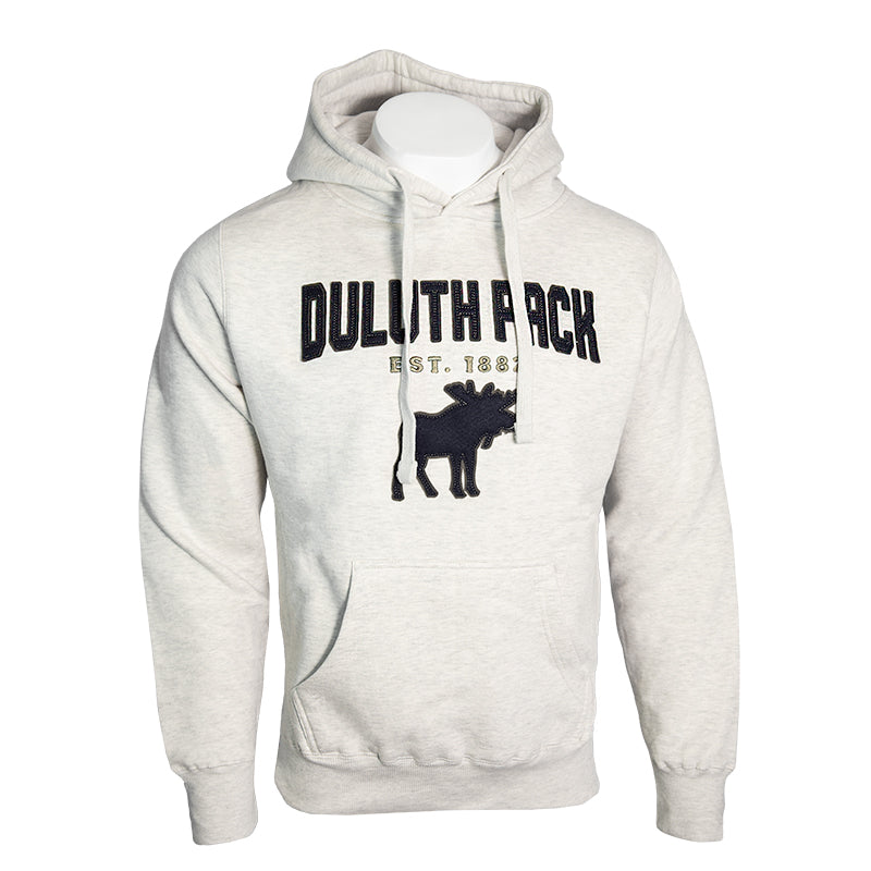 Duluth Pack Felt Moose Sweatshirt Apparel Oat / Small - Duluth Pack Apparel