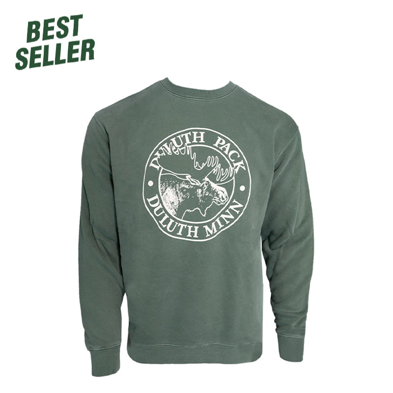 Logo Crew Neck Sweatshirt  - Duluth Pack Apparel