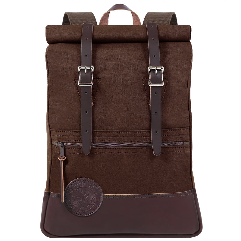 Deluxe Roll-Top Scout Day Pack Brown - Duluth Pack