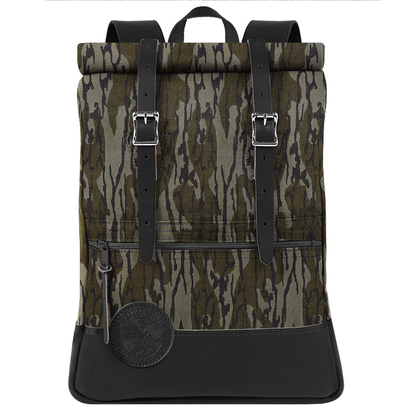 Deluxe Roll-Top Scout Day Pack Mossy Oak Bottomland - Duluth Pack