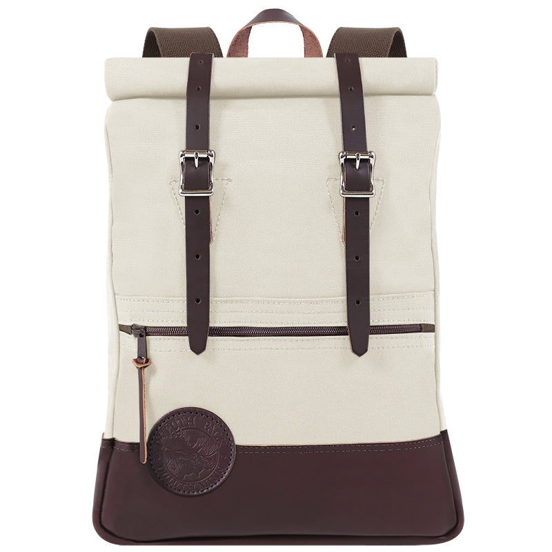 Deluxe Roll-Top Scout Day Pack Natural - Duluth Pack