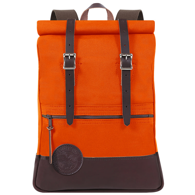 Deluxe Roll-Top Scout Day Pack Hunters Orange - Duluth Pack