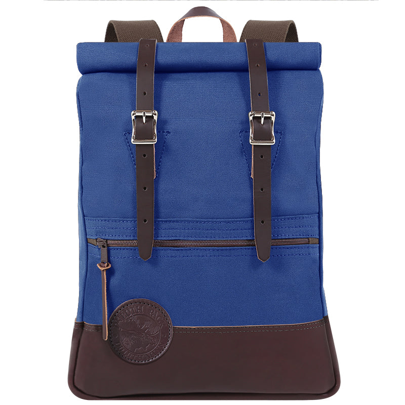 Deluxe Roll-Top Scout Day Pack Royal Blue - Duluth Pack