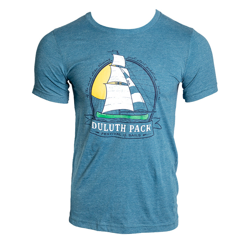 Canoe Sail T-Shirt Apparel  - Duluth Pack Apparel