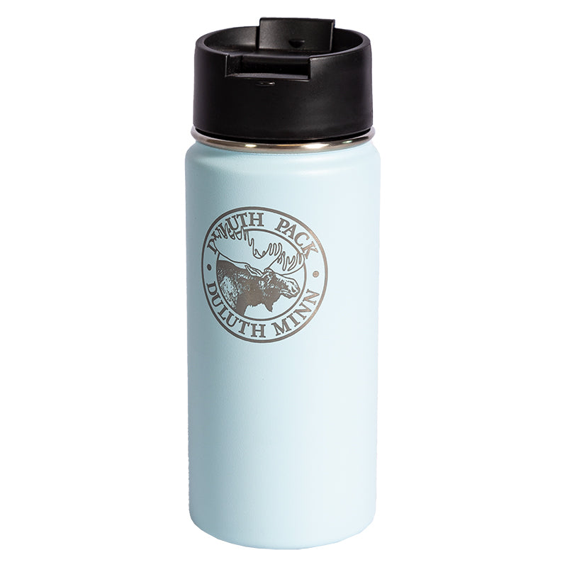 16oz Logo Water Bottle Water Bottle Frost - Hydro Flask