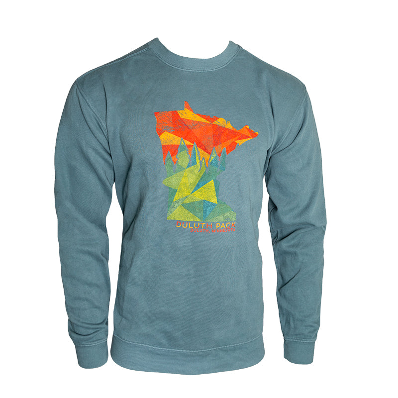 Minnesota Pines Crewneck Sweatshirt Apparel Small - Duluth Pack Apparel