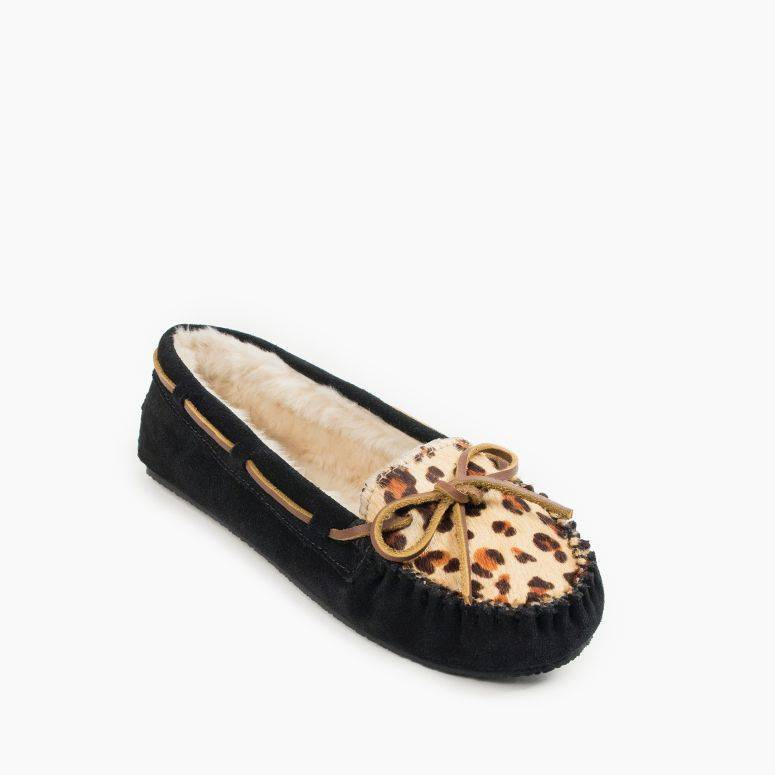 Women's Leopard Cally Slipper