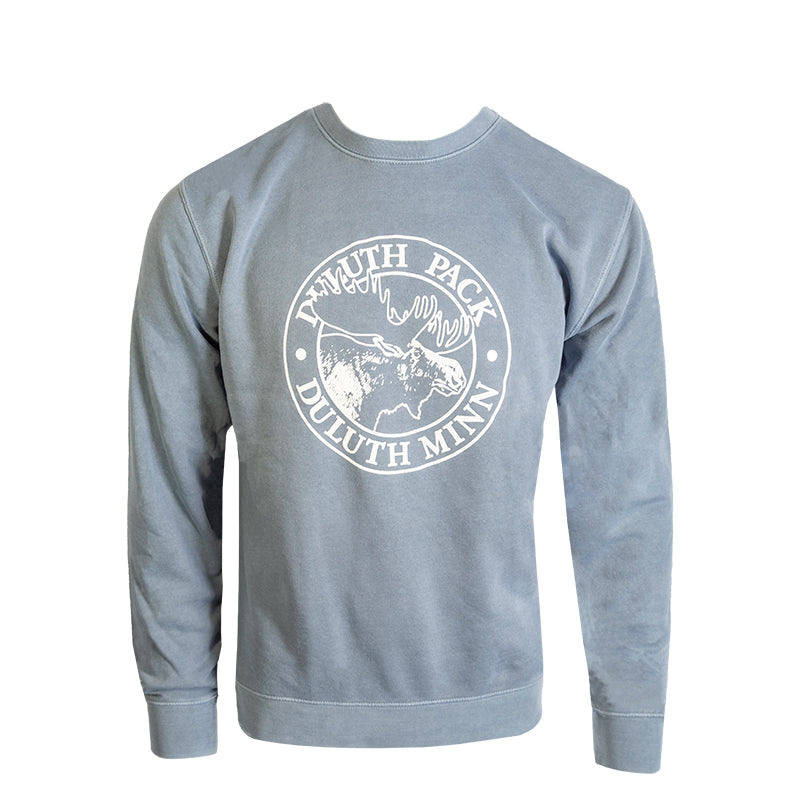 Logo Crew Neck Sweatshirt Blue / Small - Duluth Pack Apparel