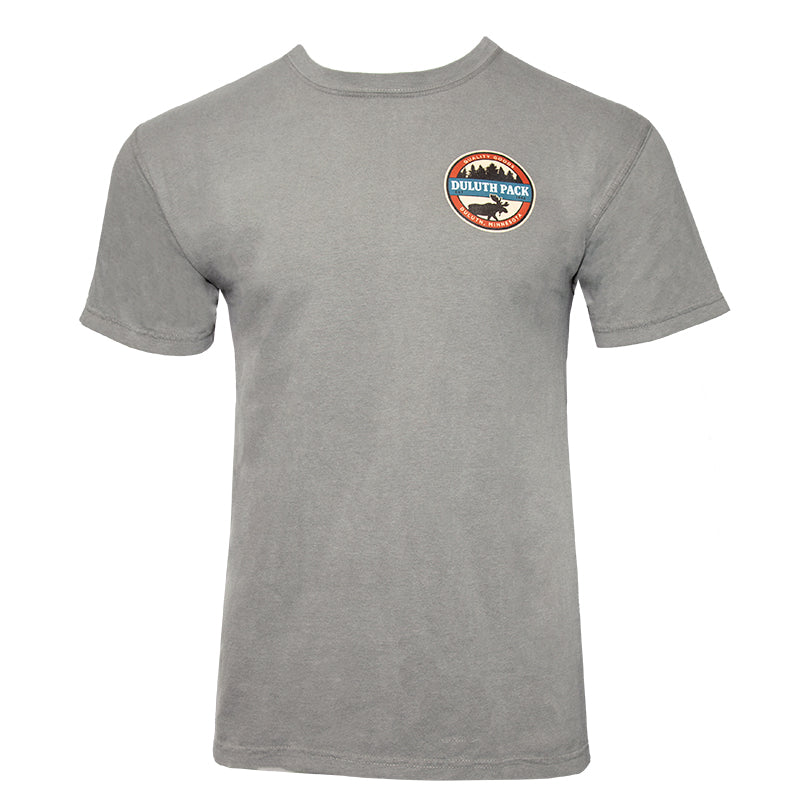 Beer Label T-Shirt Apparel X-Large / Grey - Duluth Pack Apparel