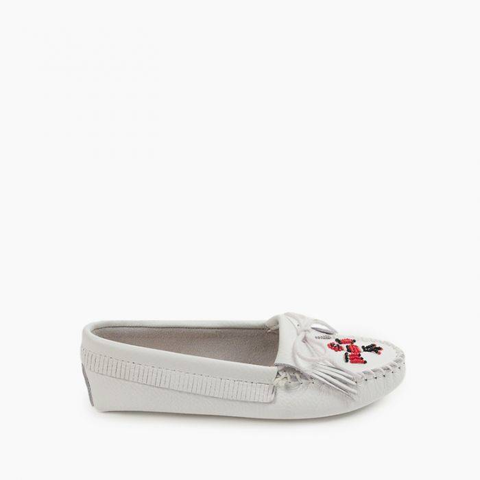 Women's Thunderbird Softsole Women's Footwear White / 6 - Minnetonka Moccasin