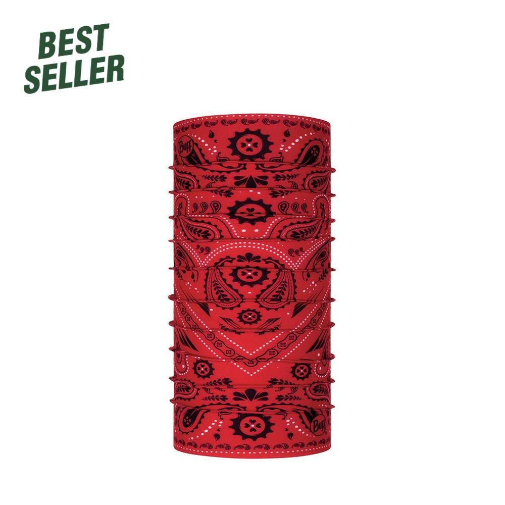 BUFF® Polar Multifunctional Headwear Headwear Red - Buff