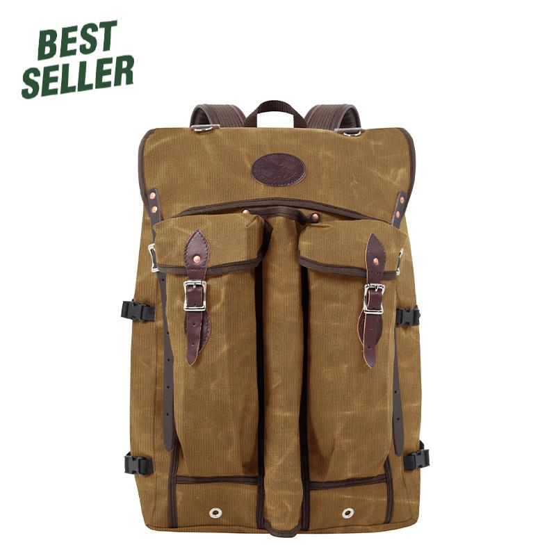 Bushcrafter Packs Waxed Khaki - Duluth Pack