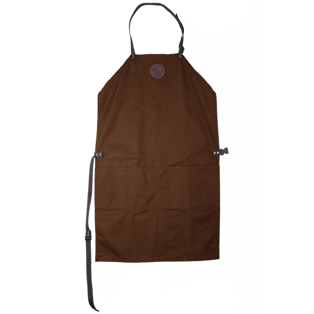 Canvas Apron Cabin Items Brown / Long - Duluth Pack