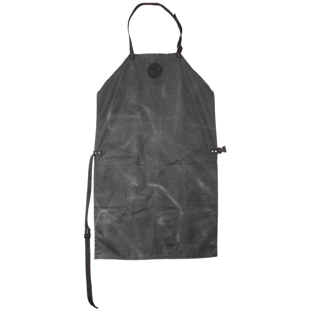 Canvas Apron Cabin Items Waxed Grey / Short - Duluth Pack