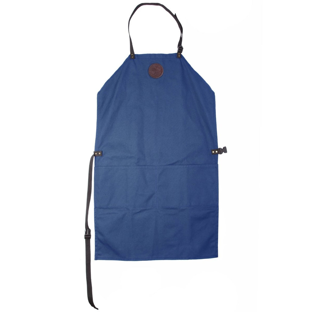 Canvas Apron Cabin Items Royal Blue / Long - Duluth Pack