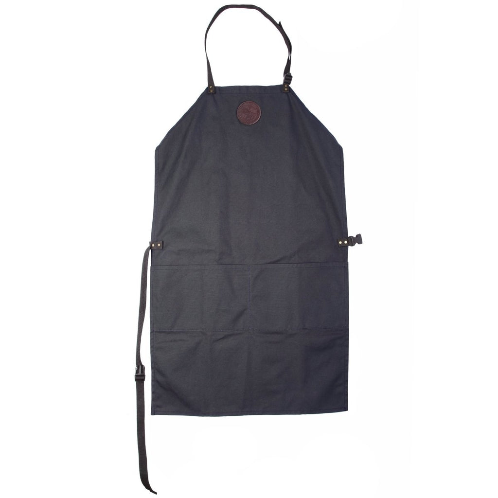 Canvas Apron Cabin Items Navy / Long - Duluth Pack