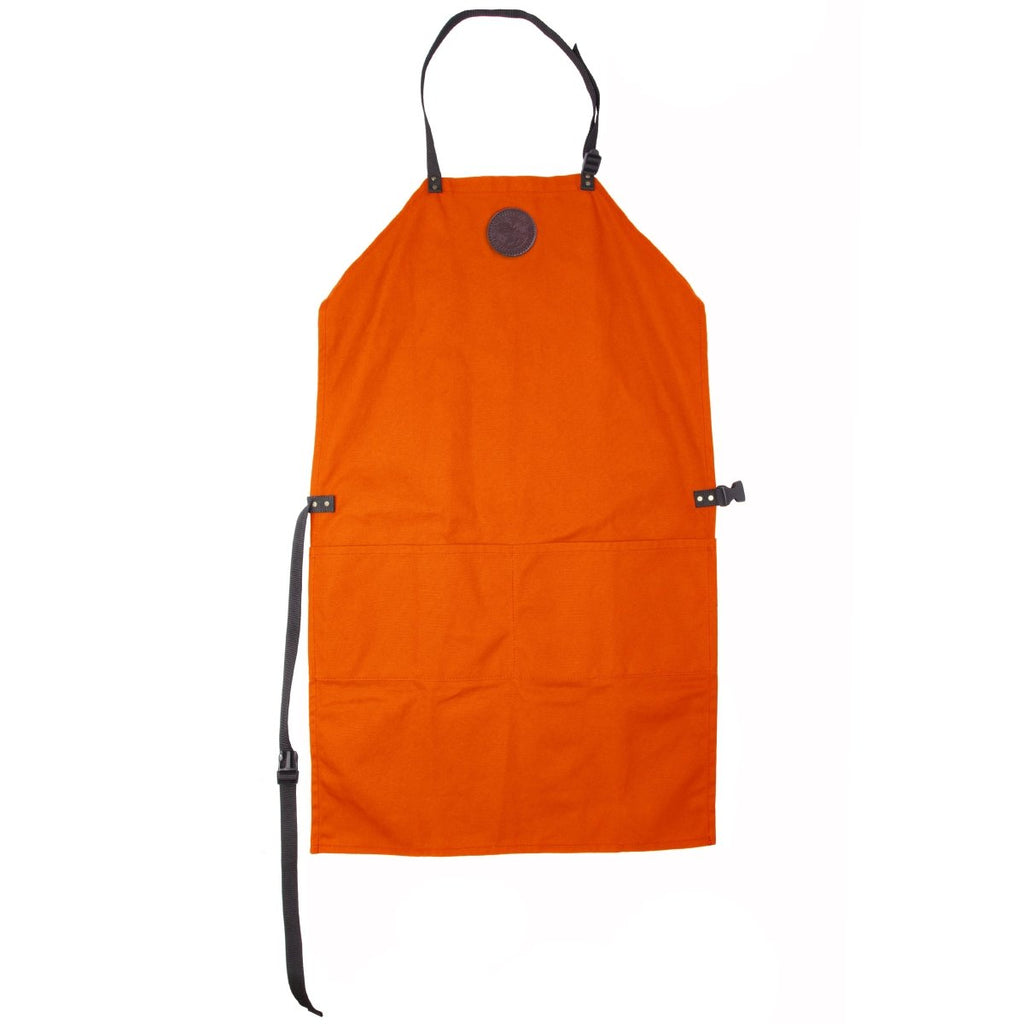 Canvas Apron Cabin Items Hunters Orange / Long - Duluth Pack