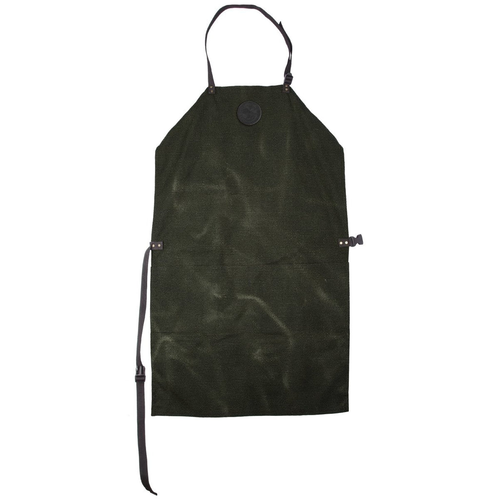 Canvas Apron Cabin Items Waxed Olive Drab / Short - Duluth Pack