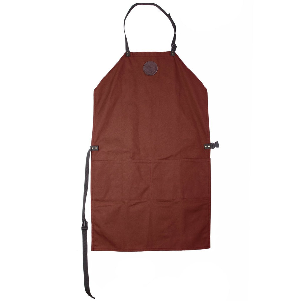 Canvas Apron Cabin Items Burgundy / Long - Duluth Pack