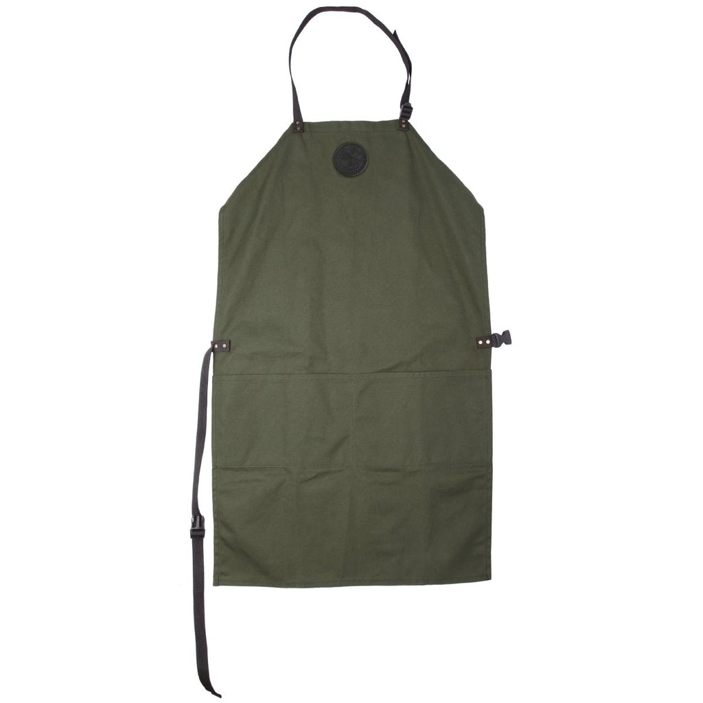 Canvas Apron Cabin Items Olive Drab / Long - Duluth Pack