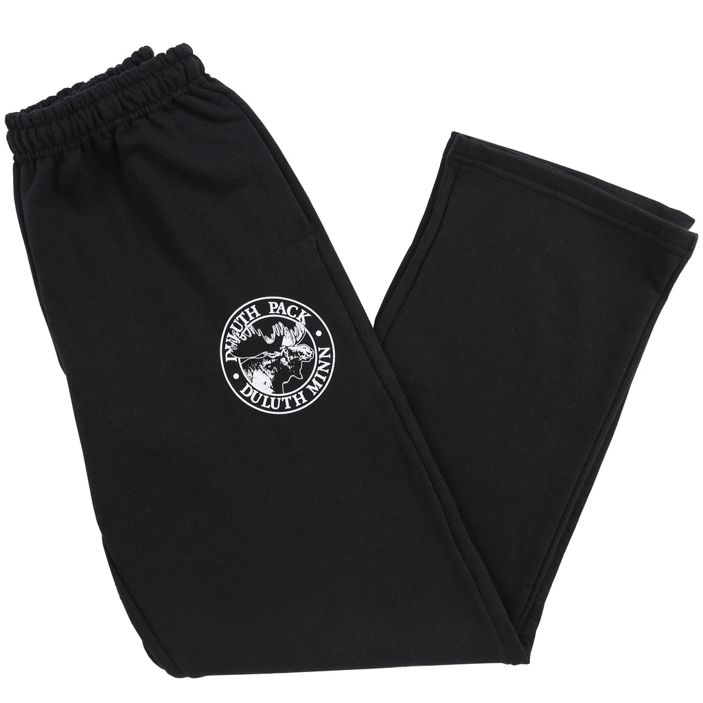 Logo Sweatpants Apparel Black / Small - Duluth Pack Apparel