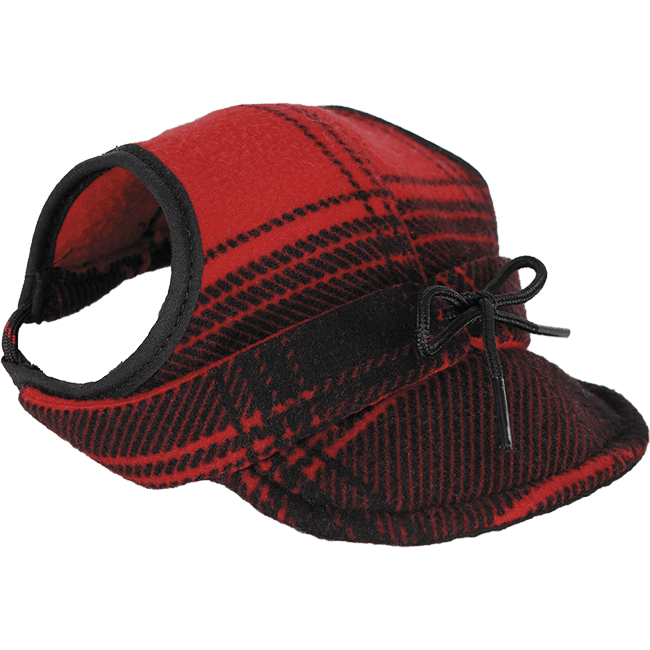 Critter Kromer Dog Red/Black Plaid / Small - Stormy Kromer