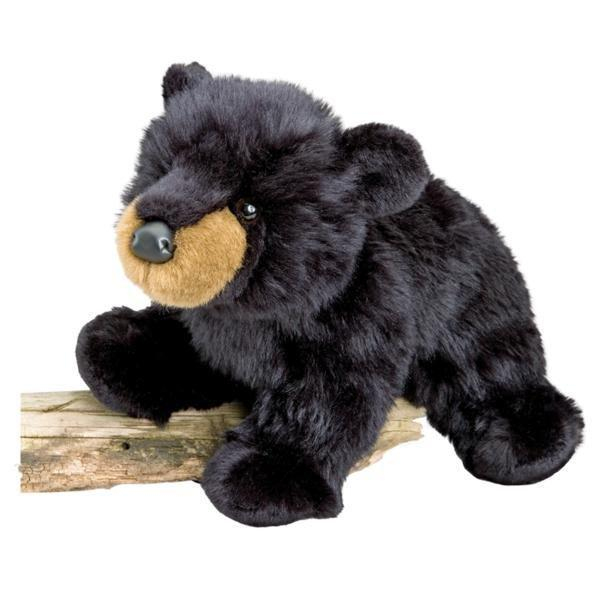 Cuddle Toys Boulder Black Bear Activity  - Douglas