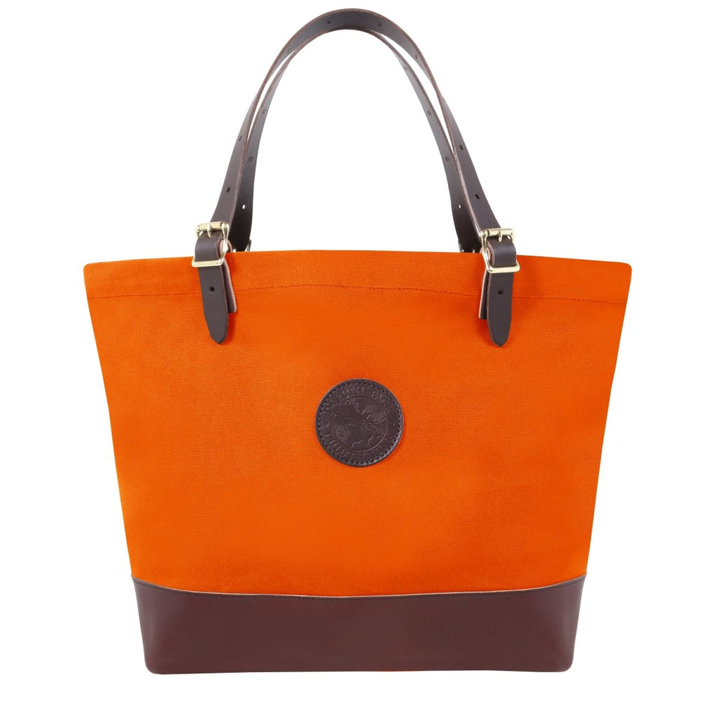 Deluxe Market Tote Totes Hunters Orange - Duluth Pack