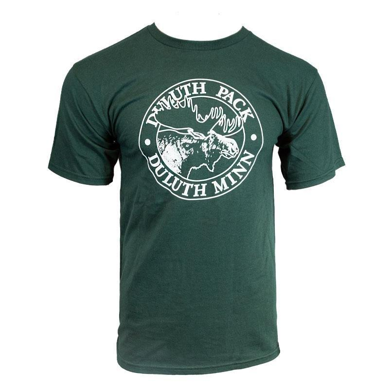 Duluth Pack Short Sleeved Logo T-Shirt Shirt Forest Green / Small - Duluth Pack Apparel