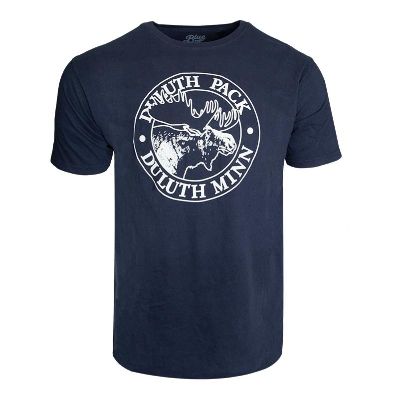 Duluth Pack Short Sleeved Logo T-Shirt Shirt Navy / Small - Duluth Pack Apparel