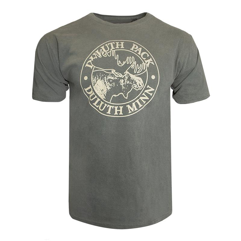 Duluth Pack Short Sleeved Logo T-Shirt Shirt Green - FINAL SALE / Small - Duluth Pack Apparel
