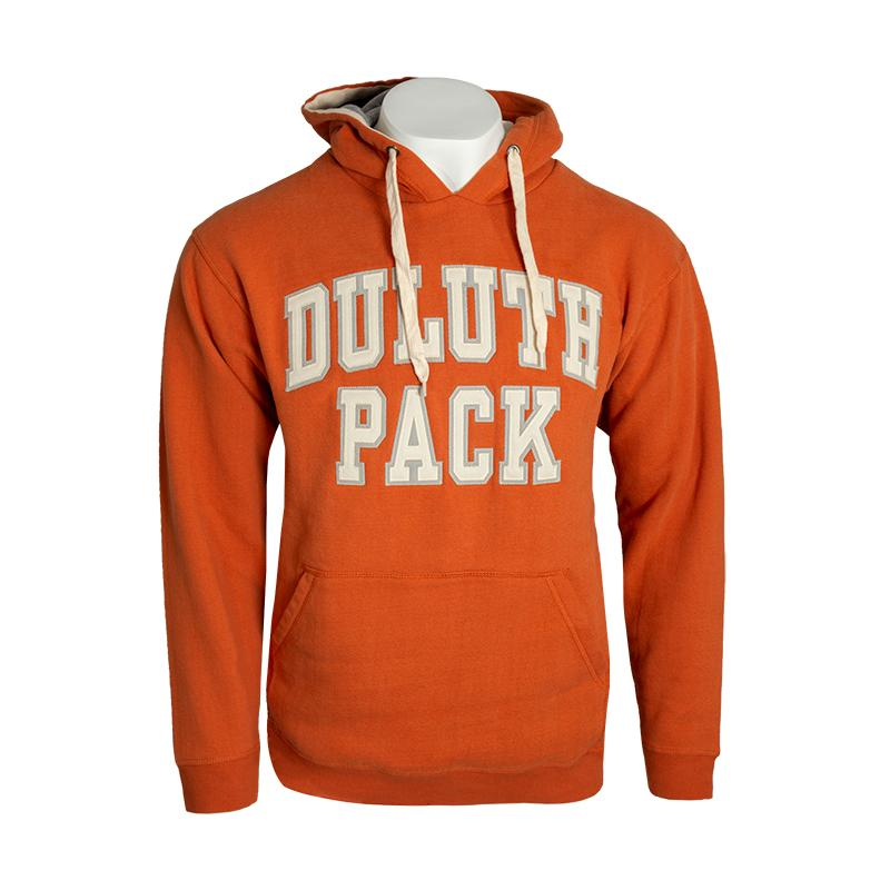 Duluth Pack Twill Sweatshirt Sweatshirt Rust / Small - Duluth Pack Apparel