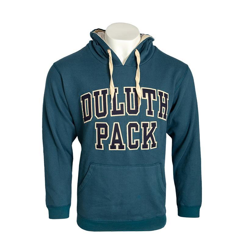 Duluth Pack Twill Sweatshirt Sweatshirt Baltic Blue / Small - Duluth Pack Apparel
