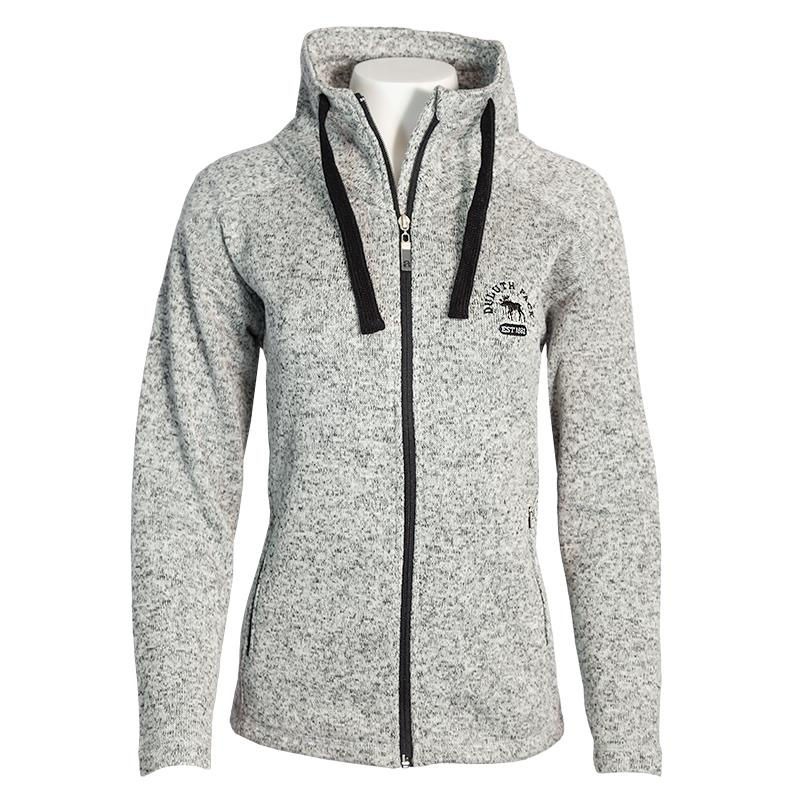 Duluth Pack Women's Moose Full-Zip Apparel Small / White - Duluth Pack Apparel
