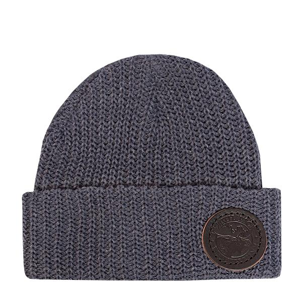 Eco Cotton Woven Beanie Hat Denim - Duluth Pack Apparel