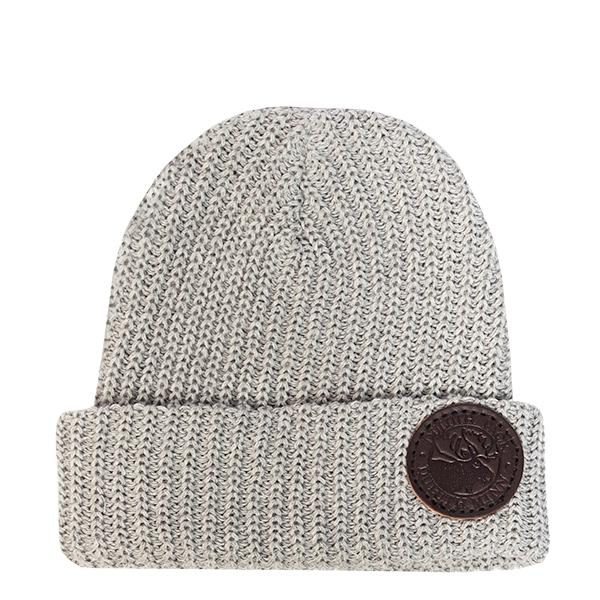 Eco Cotton Woven Beanie Hat Grey - Duluth Pack Apparel