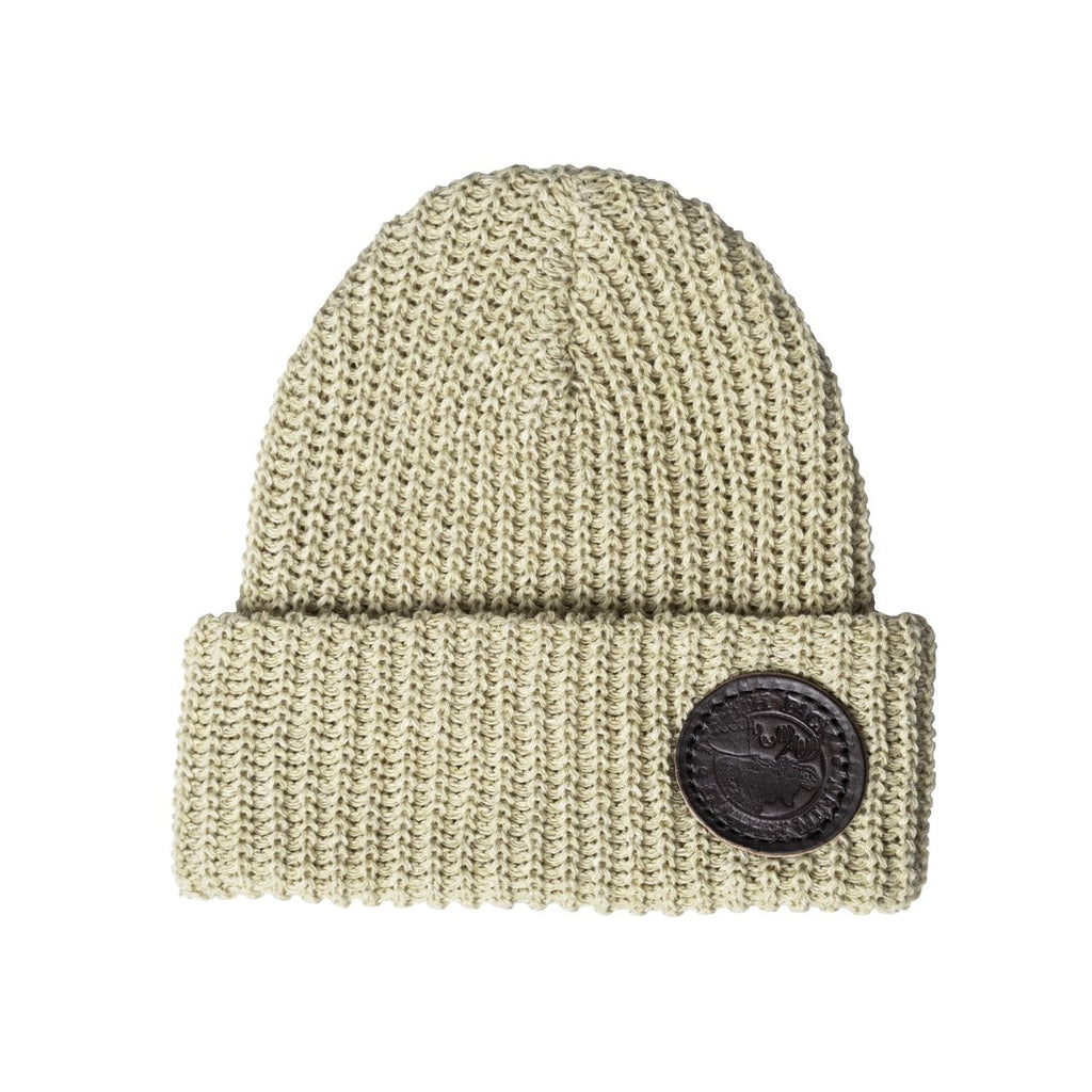 Eco Cotton Woven Beanie Hat Natural - Duluth Pack Apparel