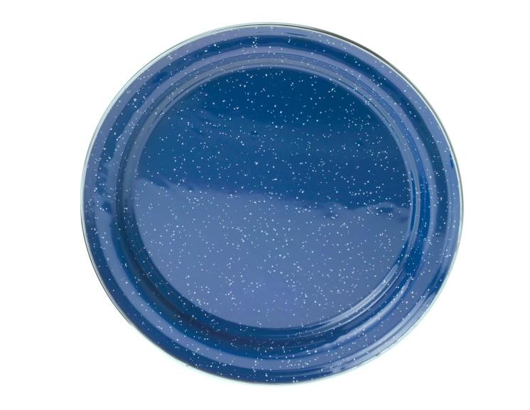 Enamelware Plate Plate Blue - GSI Outdoors