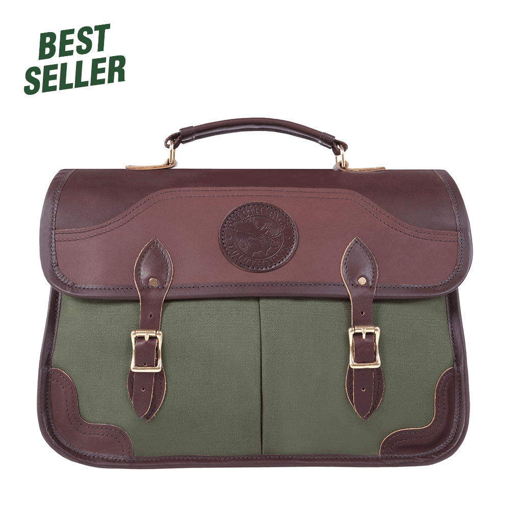 Executive Briefcase Briefcase Olive Drab - Duluth Pack