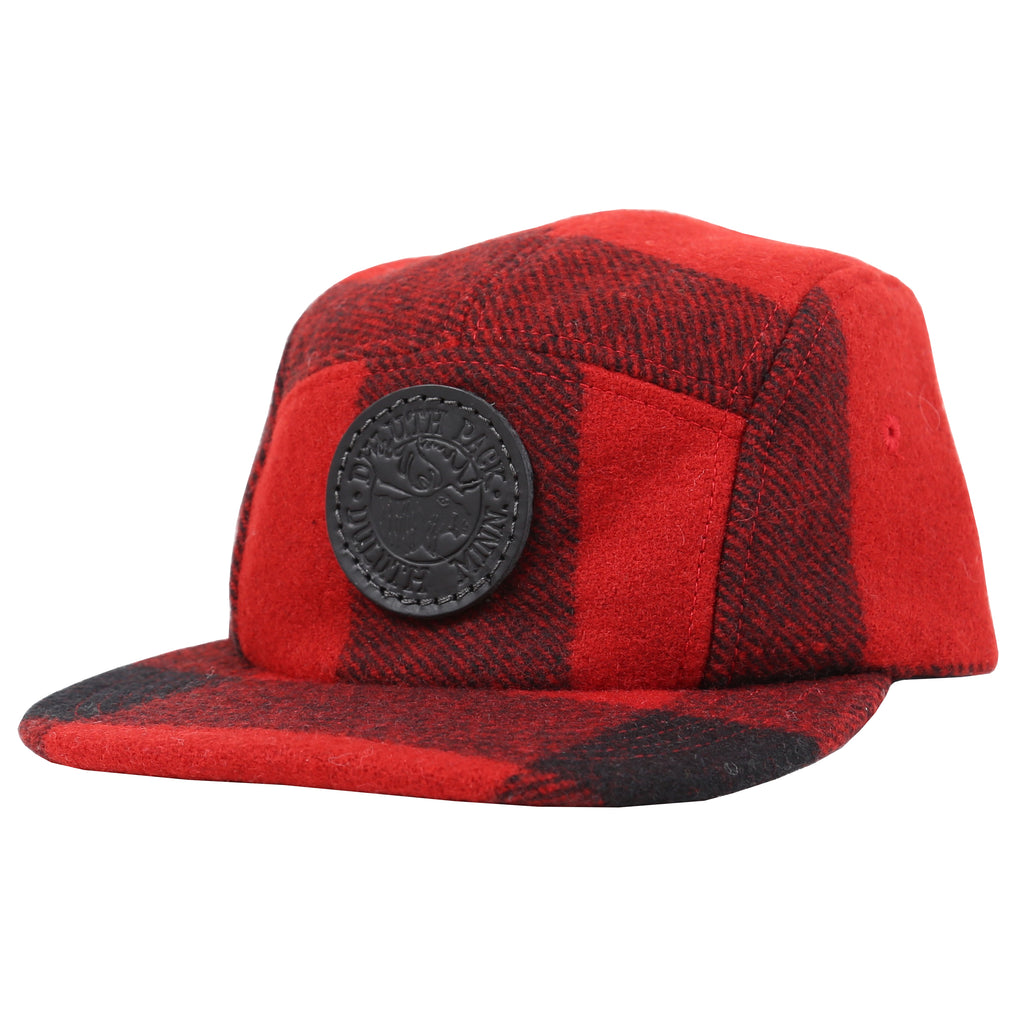 Duluth Pack x Filson 5 Panel Logo Hat Hat Red - Filson