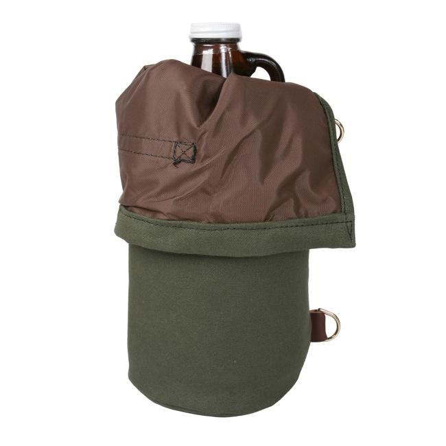 Growler Pack Lifestyle Olive Drab - Duluth Pack