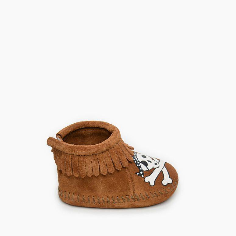 Infant's Free Range Mama - Sail Into The Mystic Bootie Kid's Footwear  - Minnetonka Moccasin