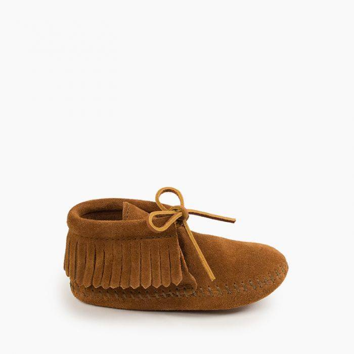 Kids' Fringe Boot Kids Footwear  - Minnetonka Moccasin