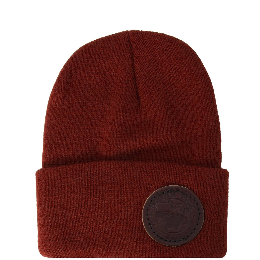 Kids Logo Beanie Apparel Burgundy - Duluth Pack Apparel