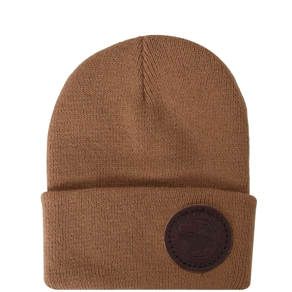 Kids Logo Beanie Apparel Taupe - Duluth Pack Apparel