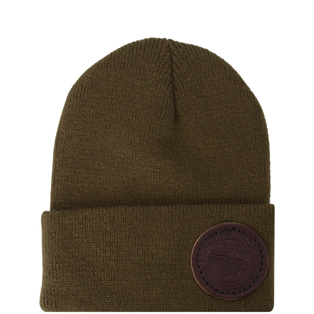 Kids Logo Beanie Apparel Green - Duluth Pack Apparel